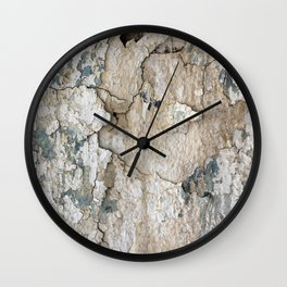 White Decay IV Wall Clock