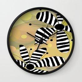 FLOWERY LUNA  / ORIGINAL DANISH DESIGN bykazandholly Wall Clock