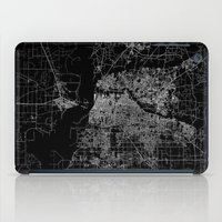 memphis iPad Cases featuring Memphis map by Line Line Lines
