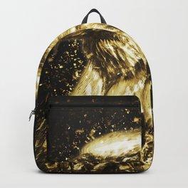 Golden American Eagle Backpack