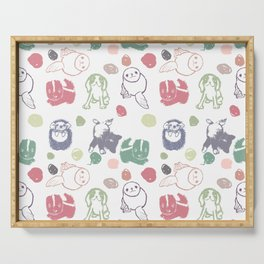 Baby Animals Serving Tray