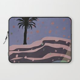 Autumnal Air around the Palm Tree Laptop Sleeve