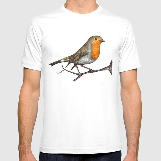 Robin bird T-shirt