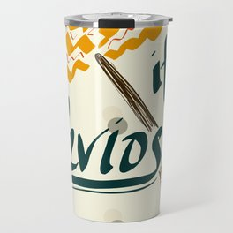 It's Leviosa Magic Wand Design Travel Mug