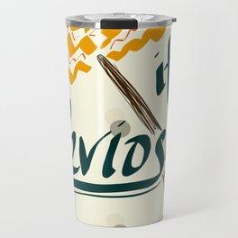 It's Leviosa Magic Wand Design Travel Mug