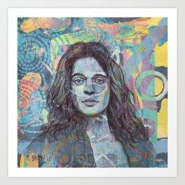DAVID LEE ROTH - YOU REALLY GOT ME Art Print