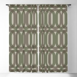 Cora in Olive Blackout Curtain