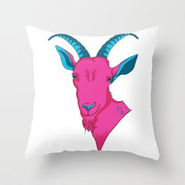 Hey Baby, What's Your Sign? - Capricorn Throw Pillow