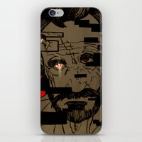 glitch iPhone & iPod Skins featuring Glitch by Margret Stewart