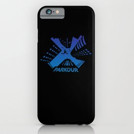 Parkour Runner Gift Freerunner Traceur iPhone Case