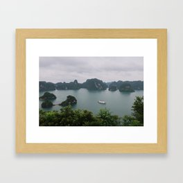 Ha Long Bay Islands Framed Art Print