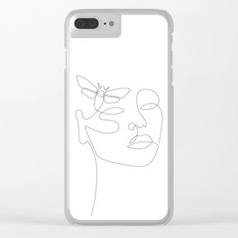 Give Me Wings Clear iPhone Case