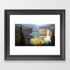 Gravity Falls Framed Art Print