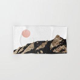 Flatirons Boulder Colorado - Climbing Gold Mountains Hand & Bath Towel