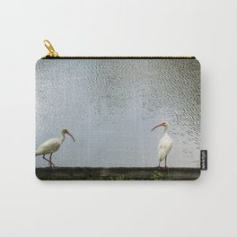 A Lakeside Chat Carry-All Pouch