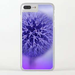 lilac on lilac -1- Clear iPhone Case