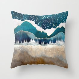 Late Winter Throw Pillow