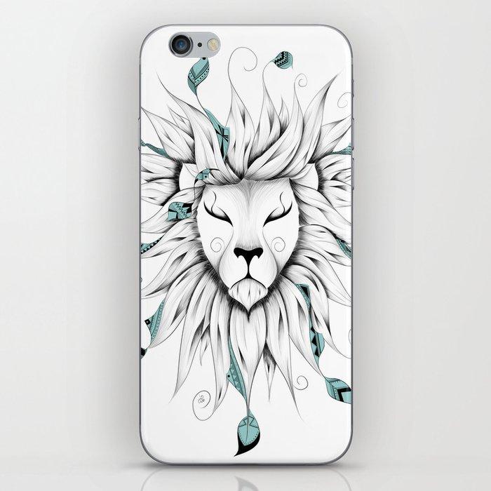 Poetic King iPhone Skin