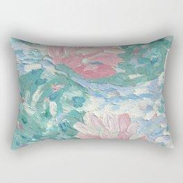 Ninfee. Waterlilies. Nynphéas Rectangular Pillow