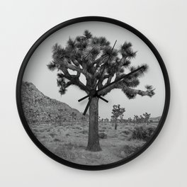 Living Mirage - Joshua Tree Wall Clock