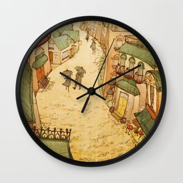 Cobblestones Wall Clock