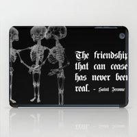 friendship iPad Cases featuring Friendship by GLR67