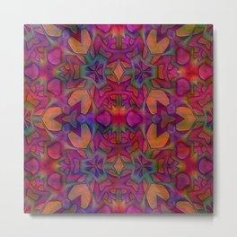 Escher Tile II Metal Print