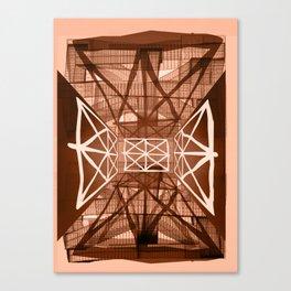 RetroFuture / Evolution-05 Canvas Print