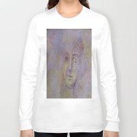 prague Long Sleeve T-shirts featuring Prague Graffiti by Lynn Bolt
