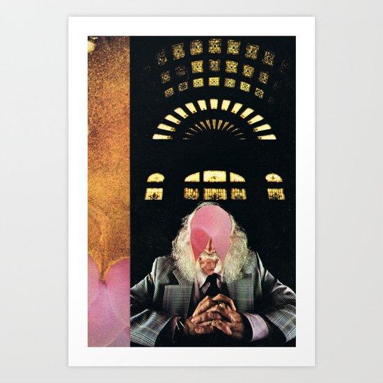the scientist (1978) Art Print
