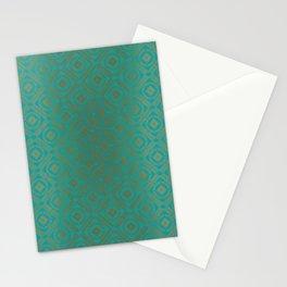 Pattern_Gold Stationery Cards