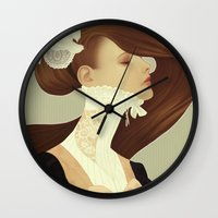 lace Wall Clocks featuring Lace by Jumei