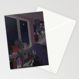 Quiet Night, Quiet Stars Stationery Cards