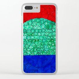 Three Lands Clear iPhone Case