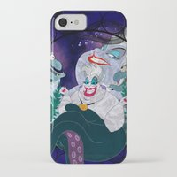 ursula iPhone & iPod Cases featuring Ursula by Mazuki Arts