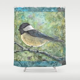 Watercolor Adee Shower Curtain