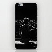 niall iPhone & iPod Skins featuring TMH Niall by Cyrilliart