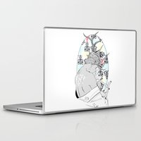 fawn Laptop & iPad Skins featuring Fawn by Cassandra Jean