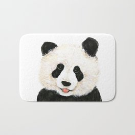 naughty little panda Bath Mat