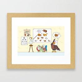 Vediamoci chiaro! Framed Art Print