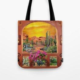 Sonoran Desert Landscape Tote Bag