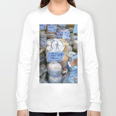 Cheese Market Paris Long Sleeve T-shirt
