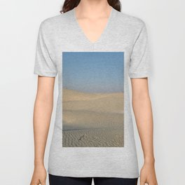 Sand Dunes Sahara Desert Landscape 03 Unisex V-Neck
