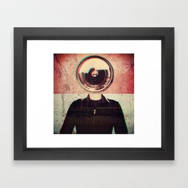 From another World! Framed Art Print