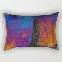 Neon Grunge 3 Rectangular Pillow