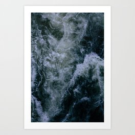 Churning Waters Art Print
