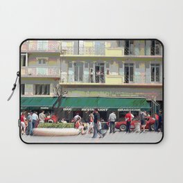 Activity in the Town Square Laptop Sleeve