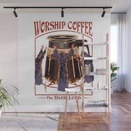 Worship Coffee Wall Mural