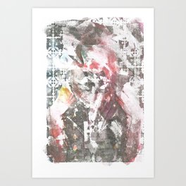 Abstract Portrait Art Print