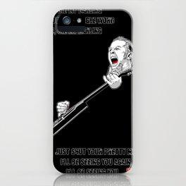 James Hatfield iPhone Case